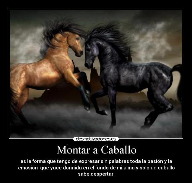Imagenes bonitas de caballos con frases cortas de reflexión para