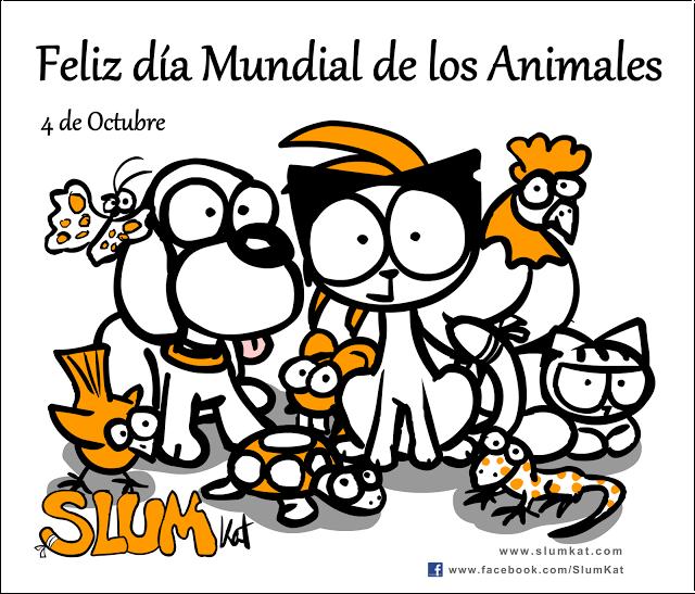 Feliz día Mundial de los Animales