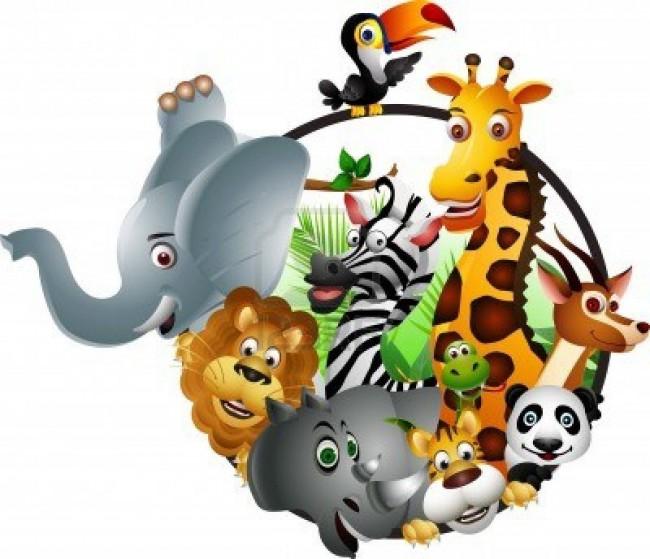 animales-en-el-zoo