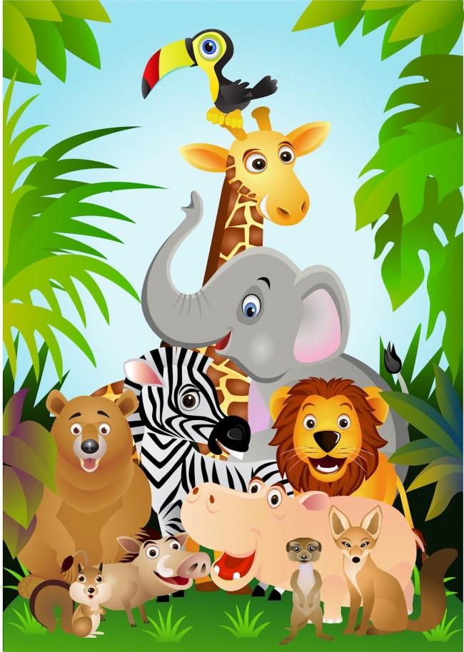 ilustracion-a-todo-color-con-los-animales-de-la-selva-