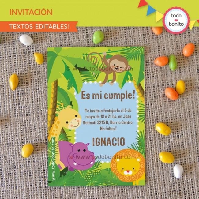 invitacion-de-cumpleanos-animales-de-la-selva