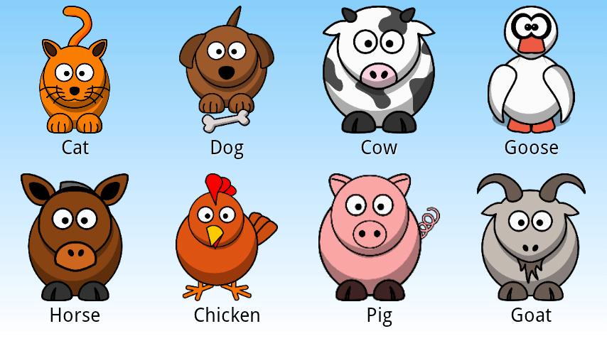 Hermosas imágenes de animales domésticos en Ingles para descargar ...