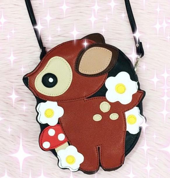 823bzp-l-610x610-bag-bambi-deer-animals-cute-kawaii-grunge-soft+grunge-kawaii+grunge-deers-kawaii+bag