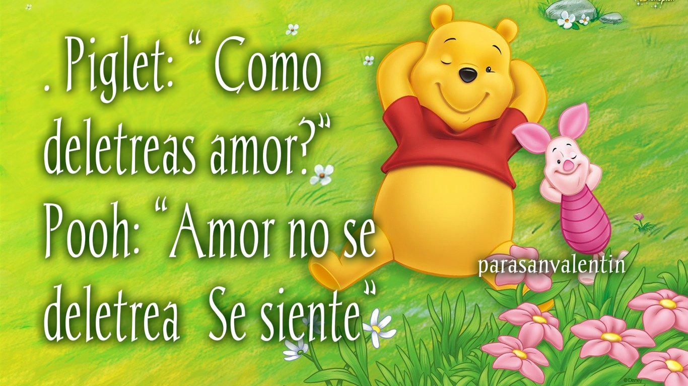 Winnie Pooh: Imágenes, tarjetas, frases dulces y mensajes ...