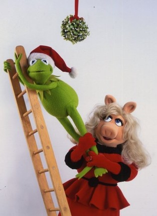 kermit at christmas