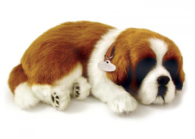 mascotas de peluche que respiran