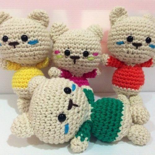 Amigurumis Kawaii Patrones Gratis : Im�genes de amigurumis o mascotas tejidas al crochet