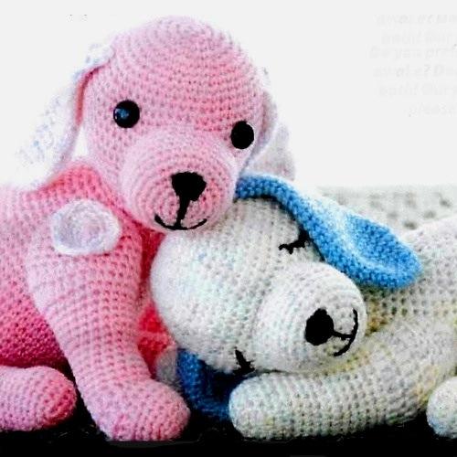 50 imágenes mascotas Amigurumi: Peluches tejidos para regalar