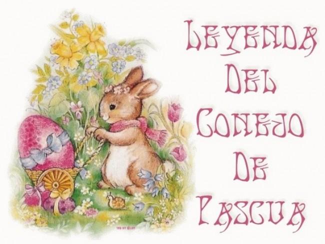 Im genes simp ticas de conejos con frases para desear for El conejo de pascua