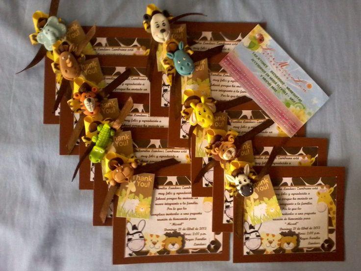 Imágenes De Invitaciones De Cumpleaños Para Nenes Con Animalitos