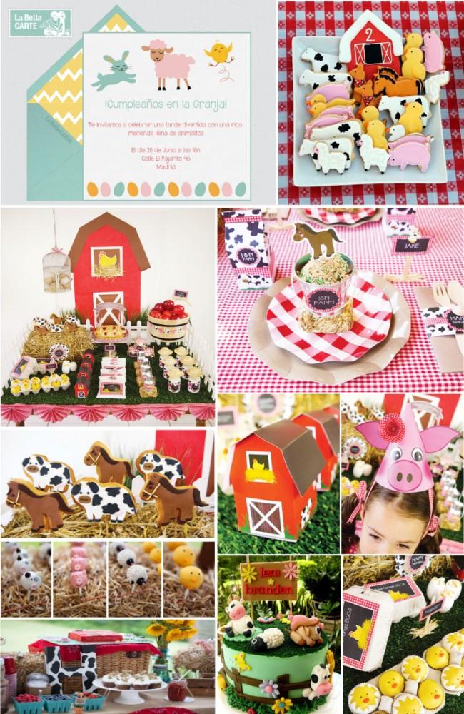 Invitaciones_infantiles_invitaciones_para_fiestas_infantiles_cumpleanos_en_la_granja_animalitos_ideas_para_cumpleanos_de_ninos_y_ninas_LaBelleCarte_La_Belle_Carte1