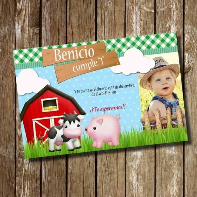 Imágenes de invitaciones de cumpleaños para nenes con animalitos Animales Hoy