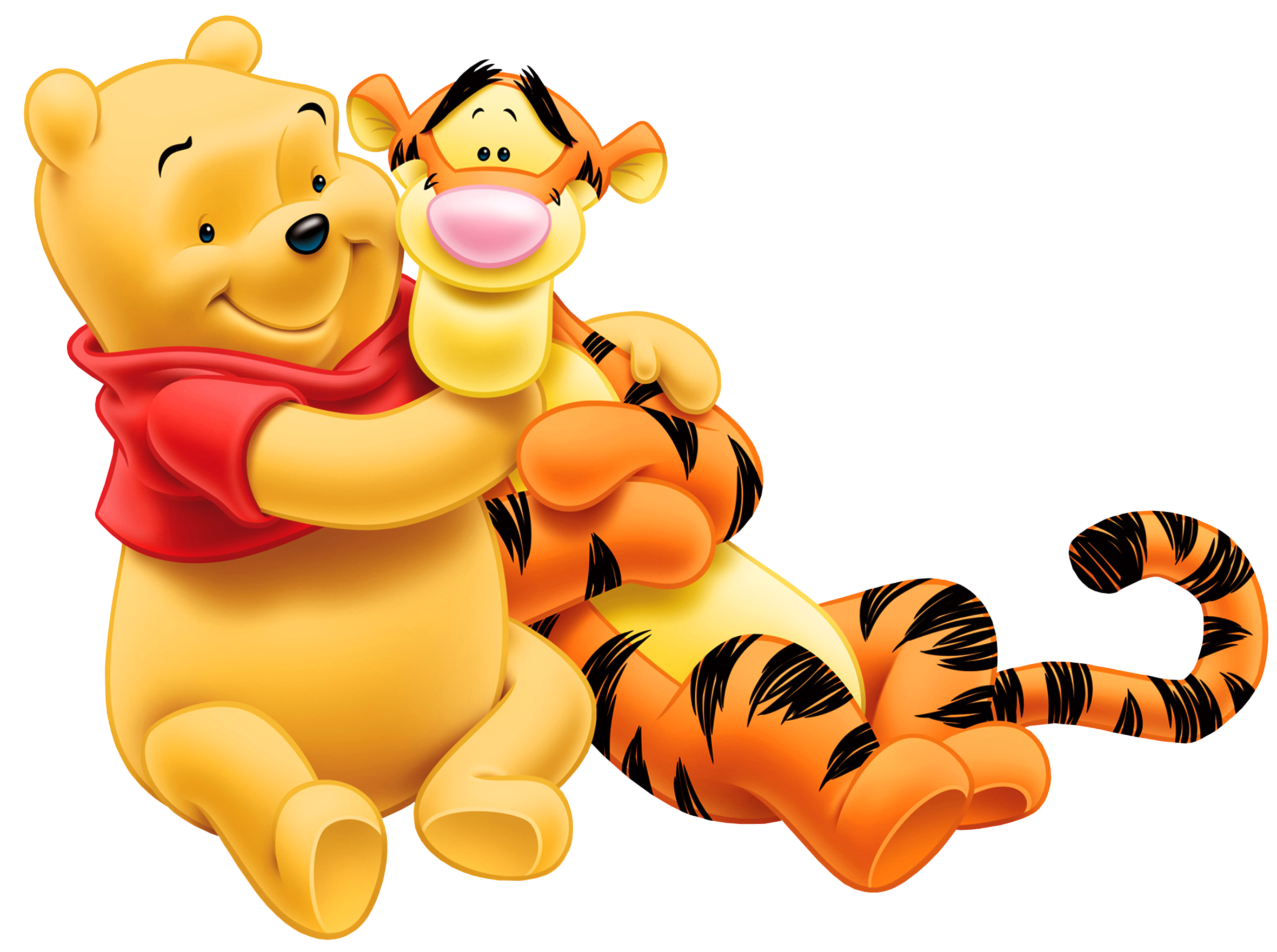Transparent_Tigger_and_Winnie_the_Pooh_PNG_Cartoon