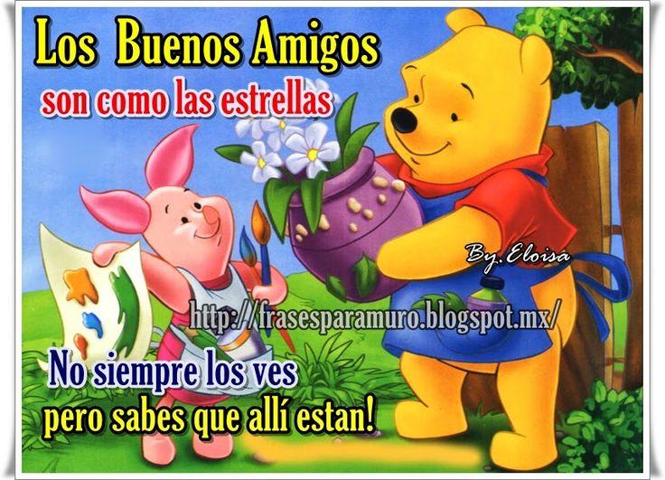 Winnie Pooh Imagenes Tarjetas Frases Dulces Y Mensajes De Amor