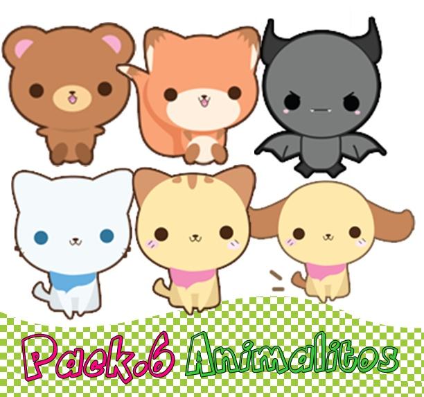 pack_6_png___animalitos___by_mayruugomez-d4n0z0b