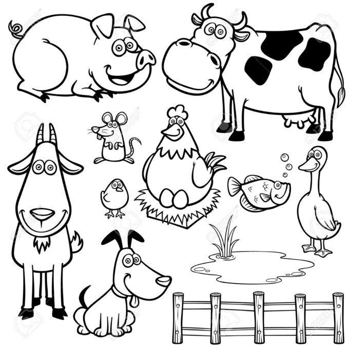 Dibujos De Animales Para Colorear